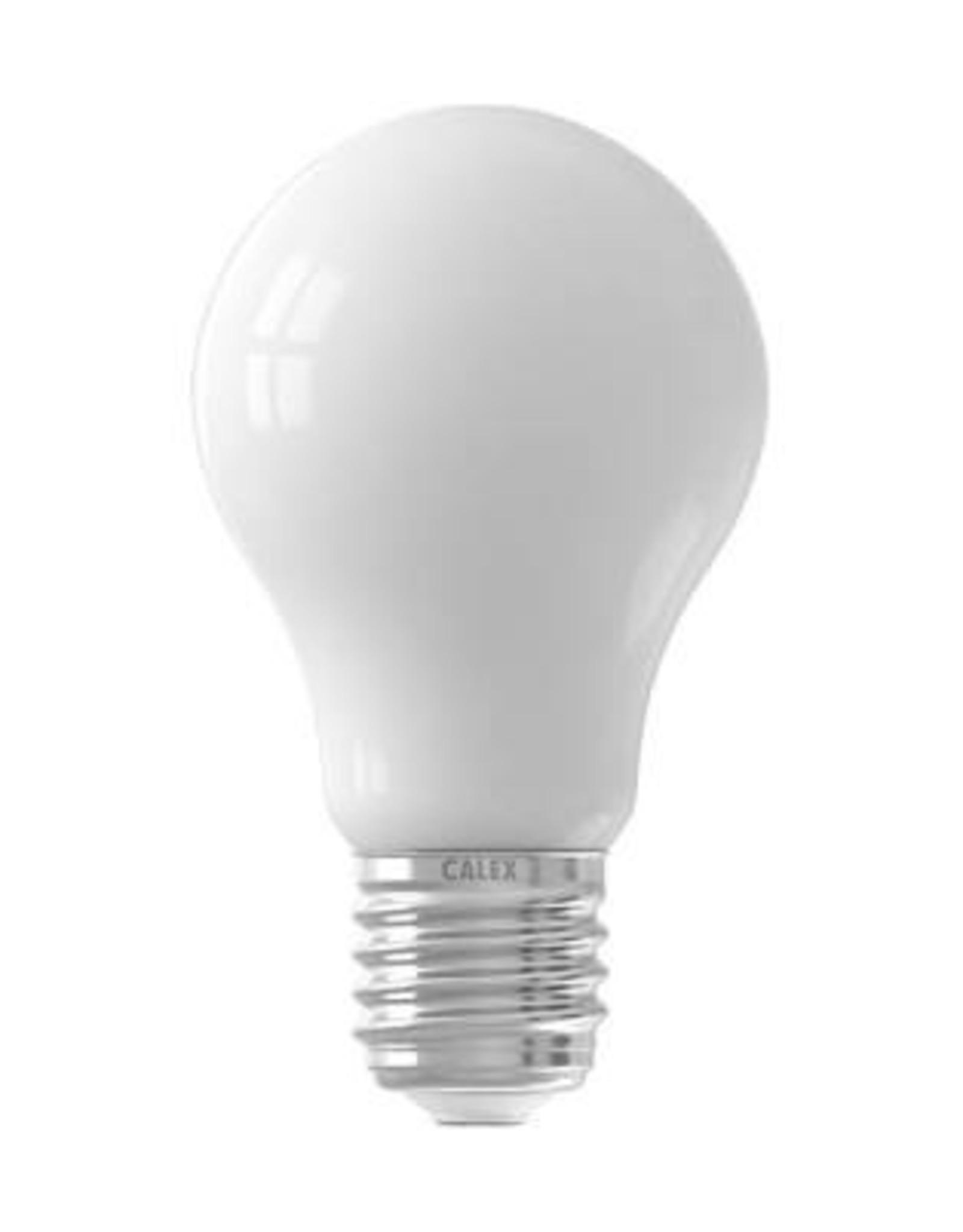 Calex LED Full Glass Filament GLS-lamp 220-240V 4W 390lm E27 A60, Softline 2700K CRI80 Dimmable, energy label A++
