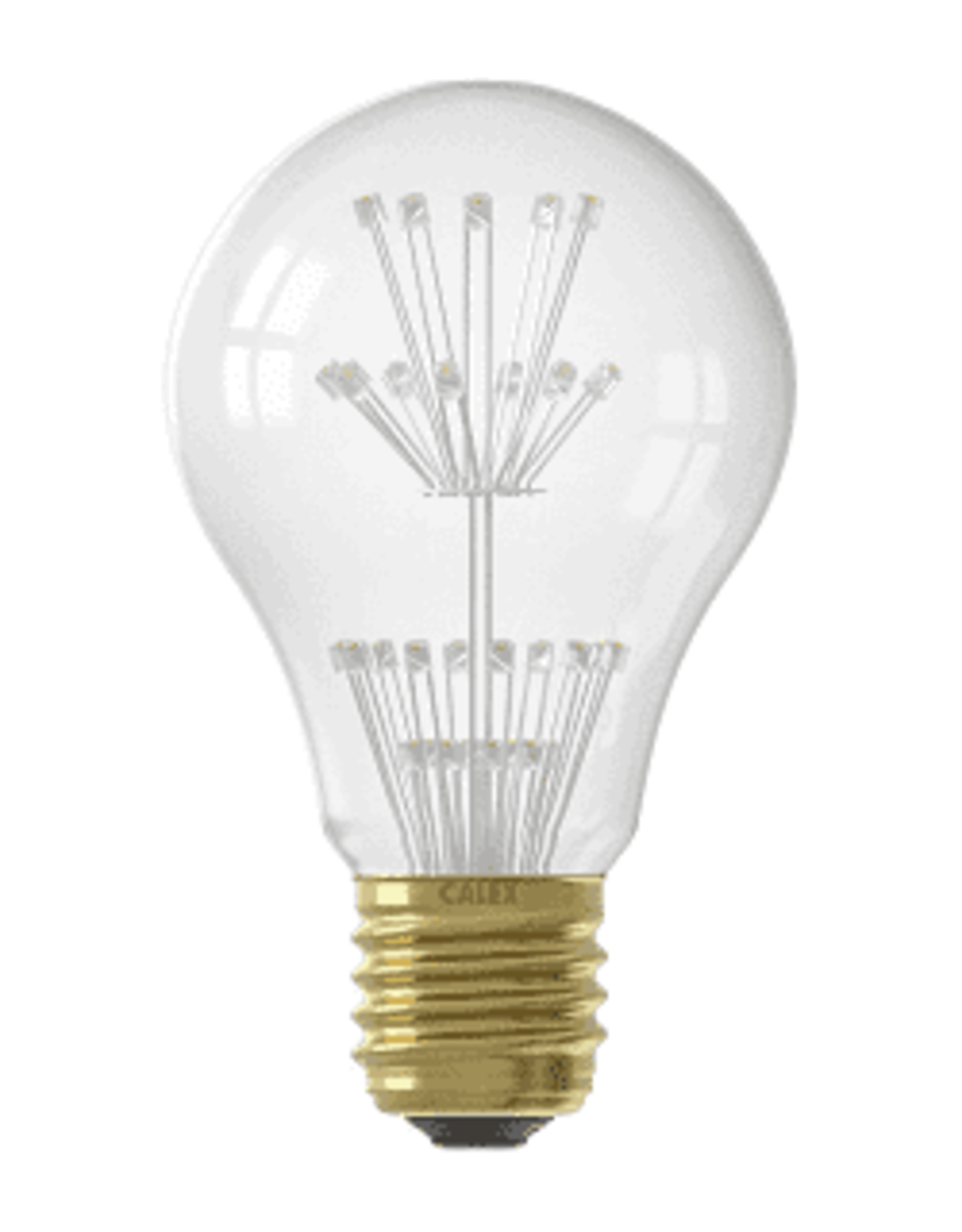 Calex Pearl LED GLS-lamp 220-240V 1,5W E27 A60, 30-leds 2100K, energy label A++