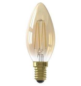 Calex LED E14 kaarslamp goud 200lm