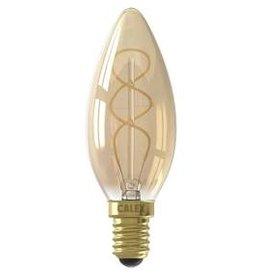 Calex LED E14 kaarslamp goud 150lm