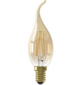 Calex LED E14 tipkaarslamp goud 200lm