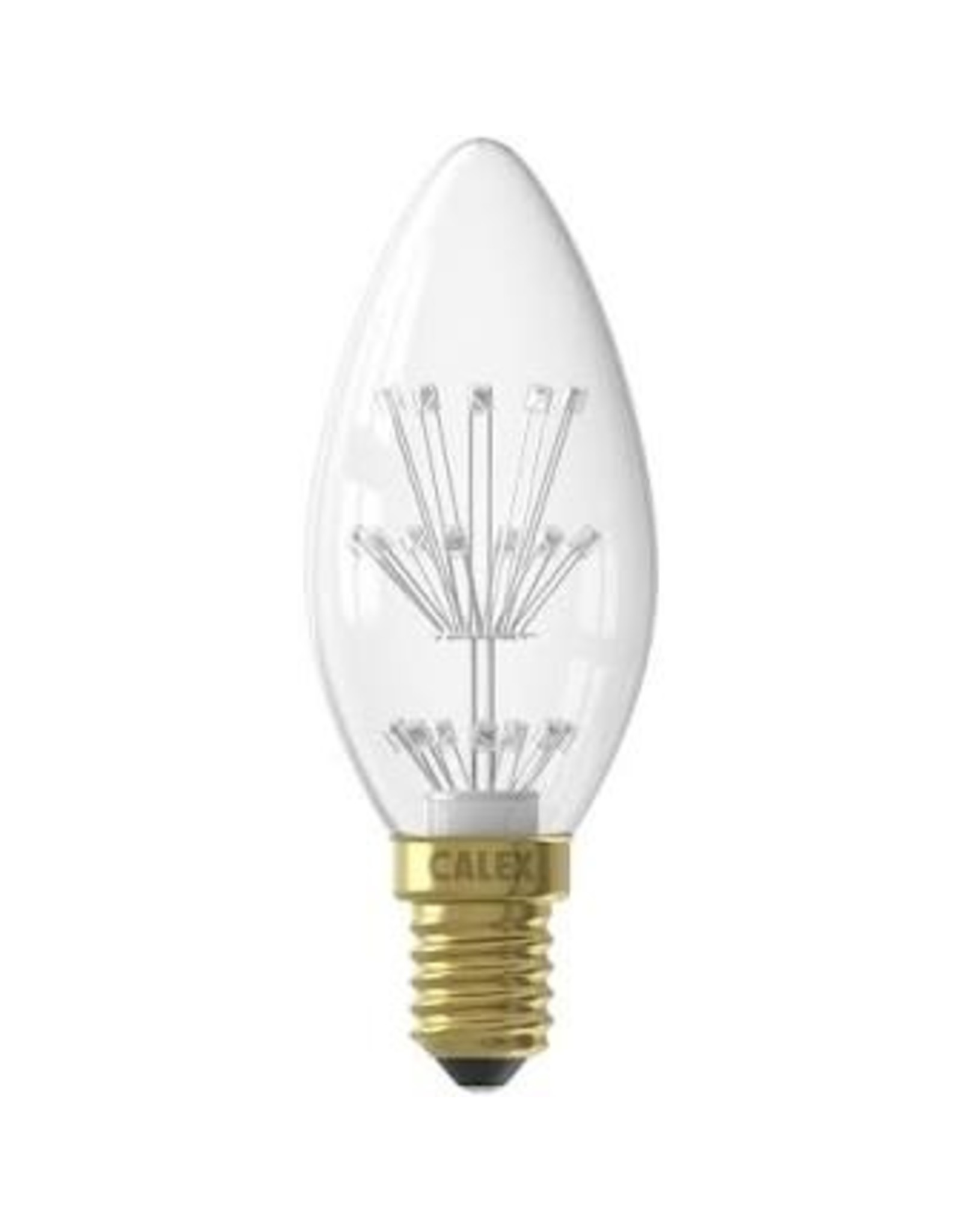 Calex Pearl LED Candle lamp 220-240V 1,0W E14 B35, 20-leds 2100K, energy label A++