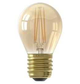 Calex LED E27 kogellamp goud 200lm