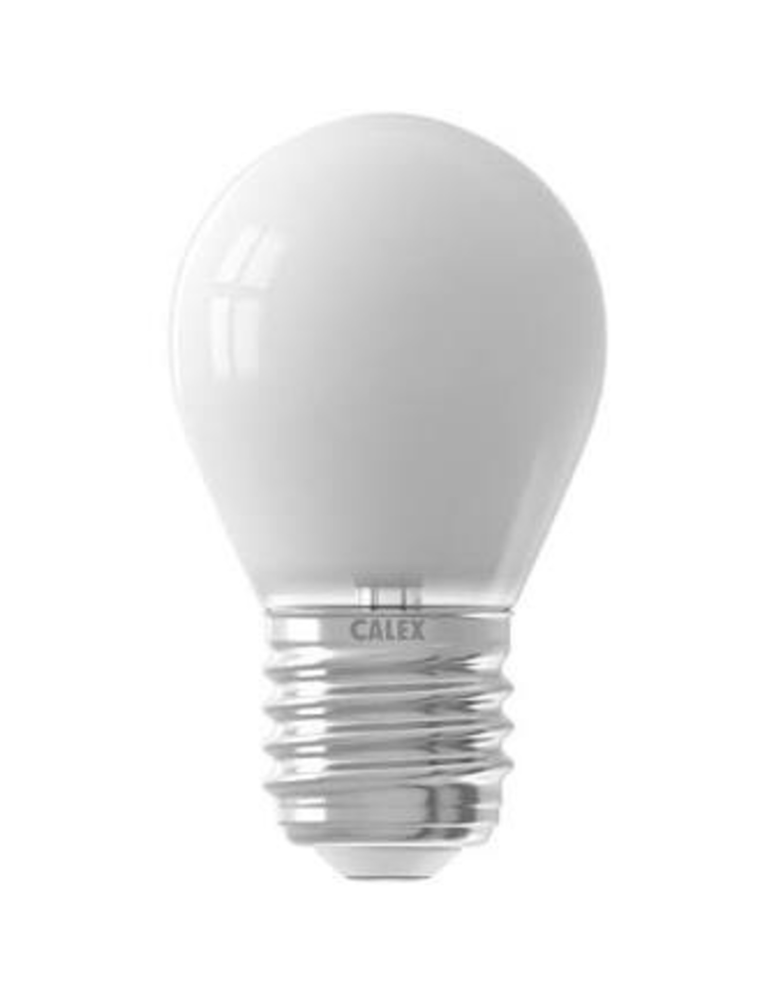 Calex LED Full Glass Filament Ball-lamp 220-240V 3,5W 350lm E27 P45, Softline 2700K CRI80 Dimmable, energy label A++