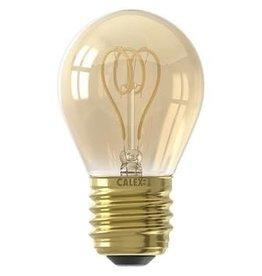 Calex LED E27 kogellamp goud 120lm