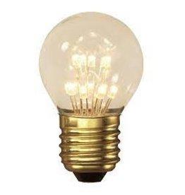 Calex LED E27 kogellamp goud 70lm