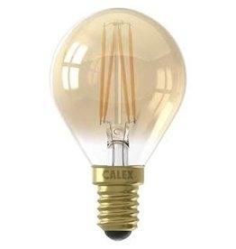 Calex LED E14 kogellamp goud 200lm