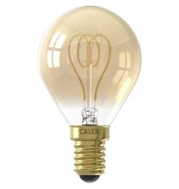 Calex LED E14 kogellamp goud 120lm