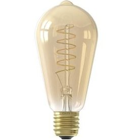 Calex LED E27 edison goud 200lm