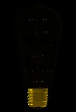 Calex Pearl LED Rustic lamp 220-240V 2W E27, 47-leds 2100K, energy label A++