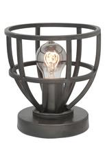 Tafellamp Orion 18 cm E27 Black Steel