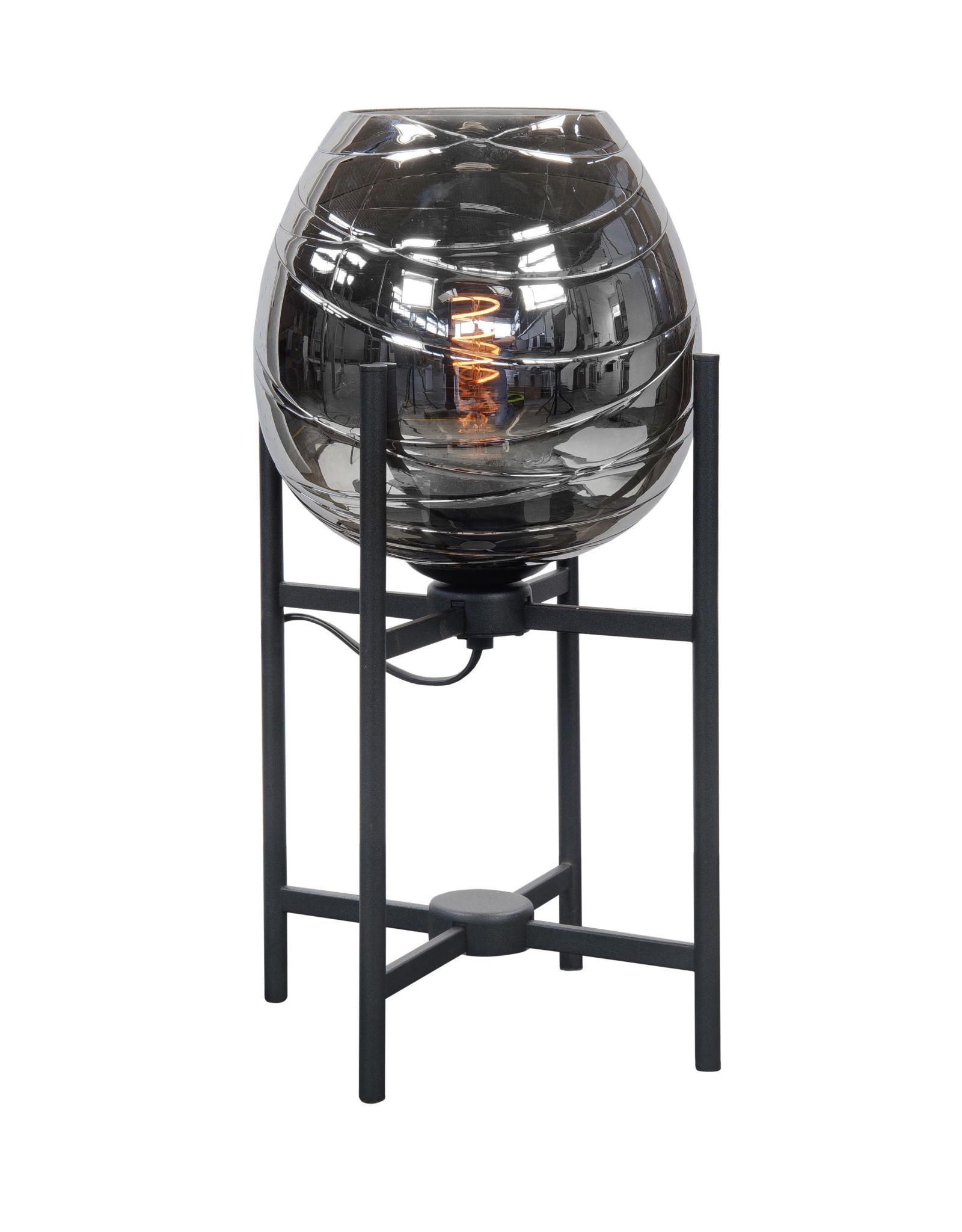 Mini tafellamp Fantasy E27 Zwart zonder glas
