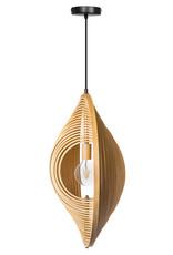 Woody hanglamp 1x E27 hout kleur