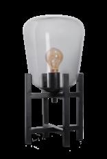 Benn Original MINI tafellamp 1x E27 zwart / gun metal glas