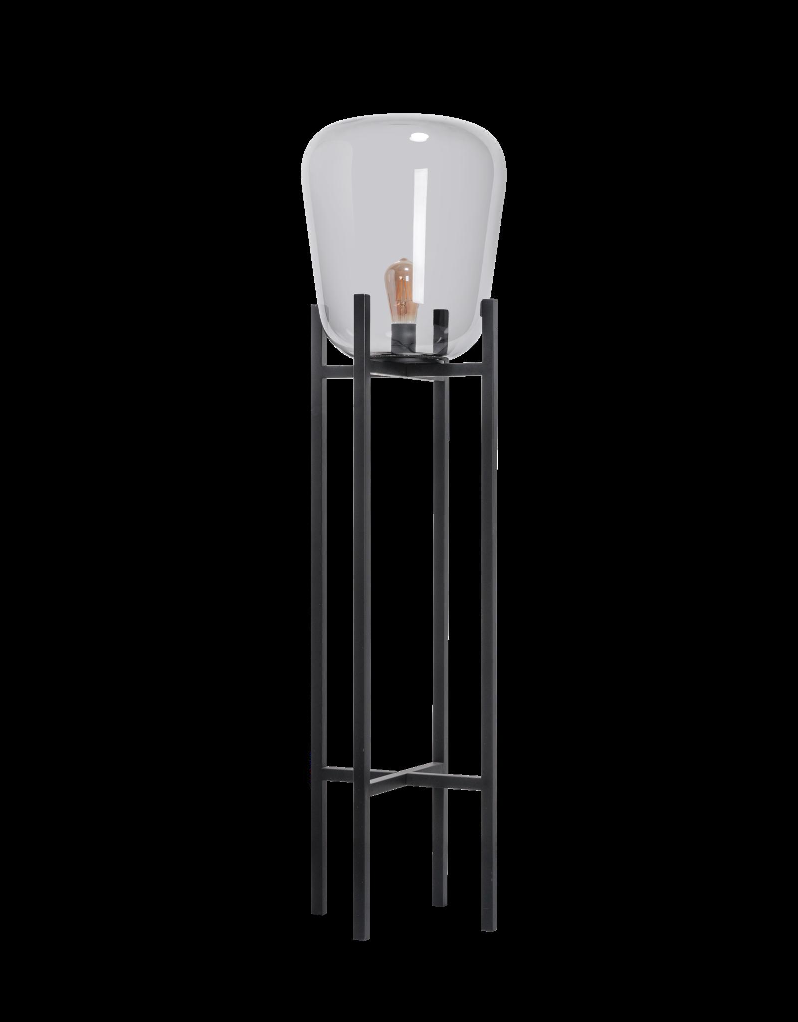 Benn Original VLOERLAMP 1x E27 zwart / gun metal glas D33 H115cm (2 DOZEN)