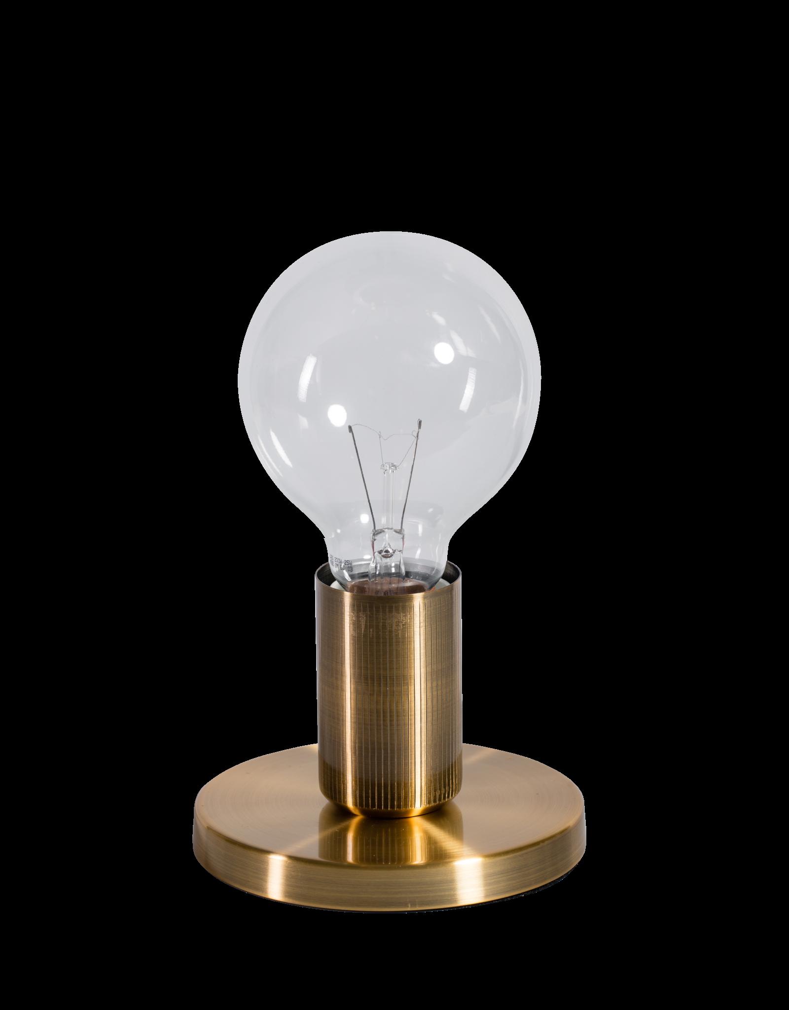 Base tafellamp 1x E27 vintage goud