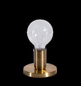 Tafellamp Base vintage goud
