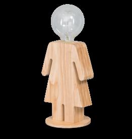 Tafellamp Eve hout