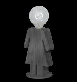 Tafellamp Eve grijs