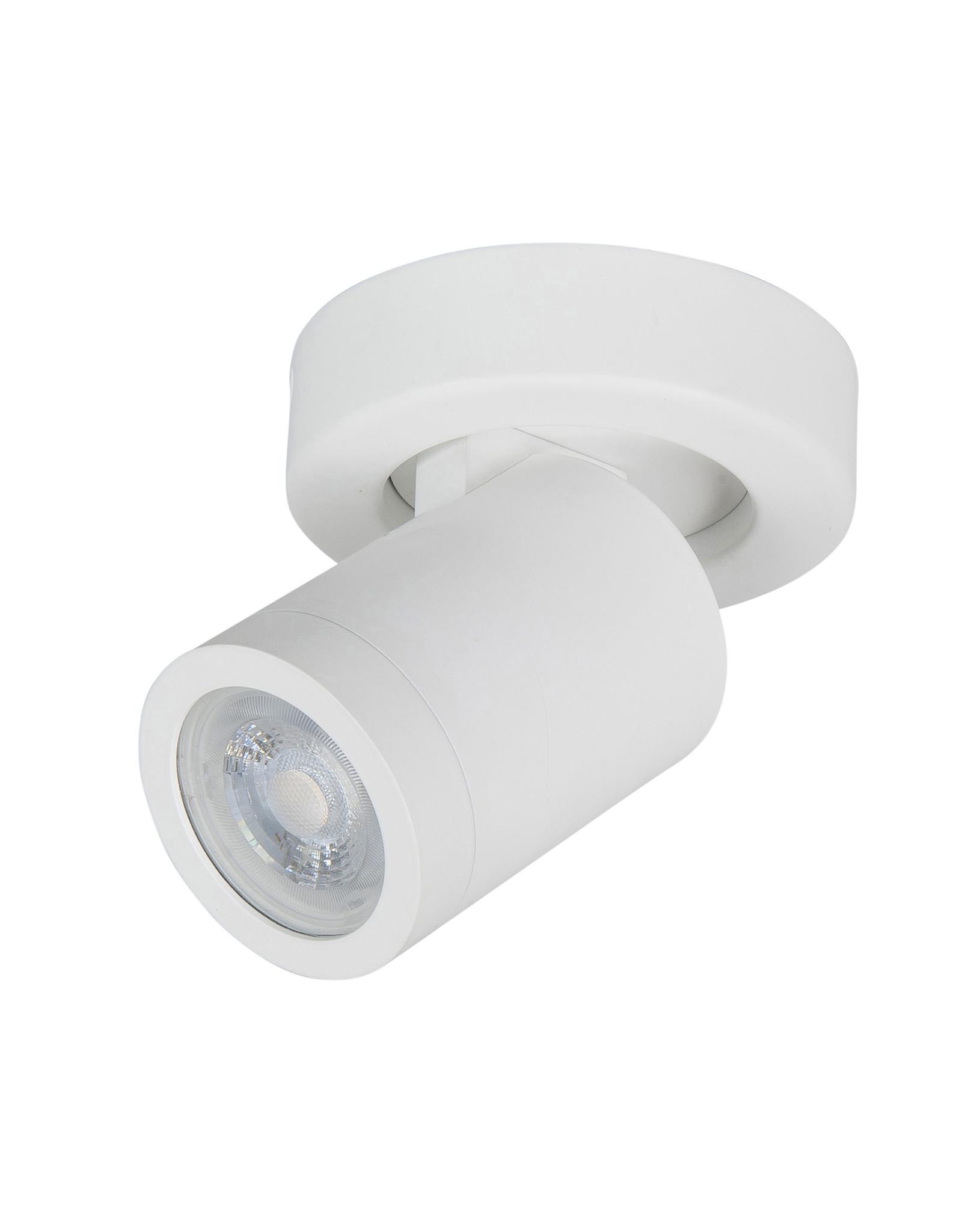 Oliver spot  GU10 LED IP44 rond Mat Wit zonder lampen