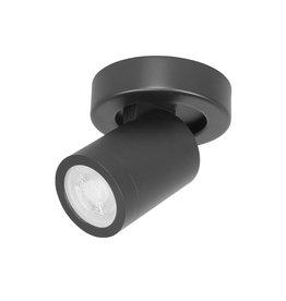 Oliver Spot 1 Lichts zwart rond IP44