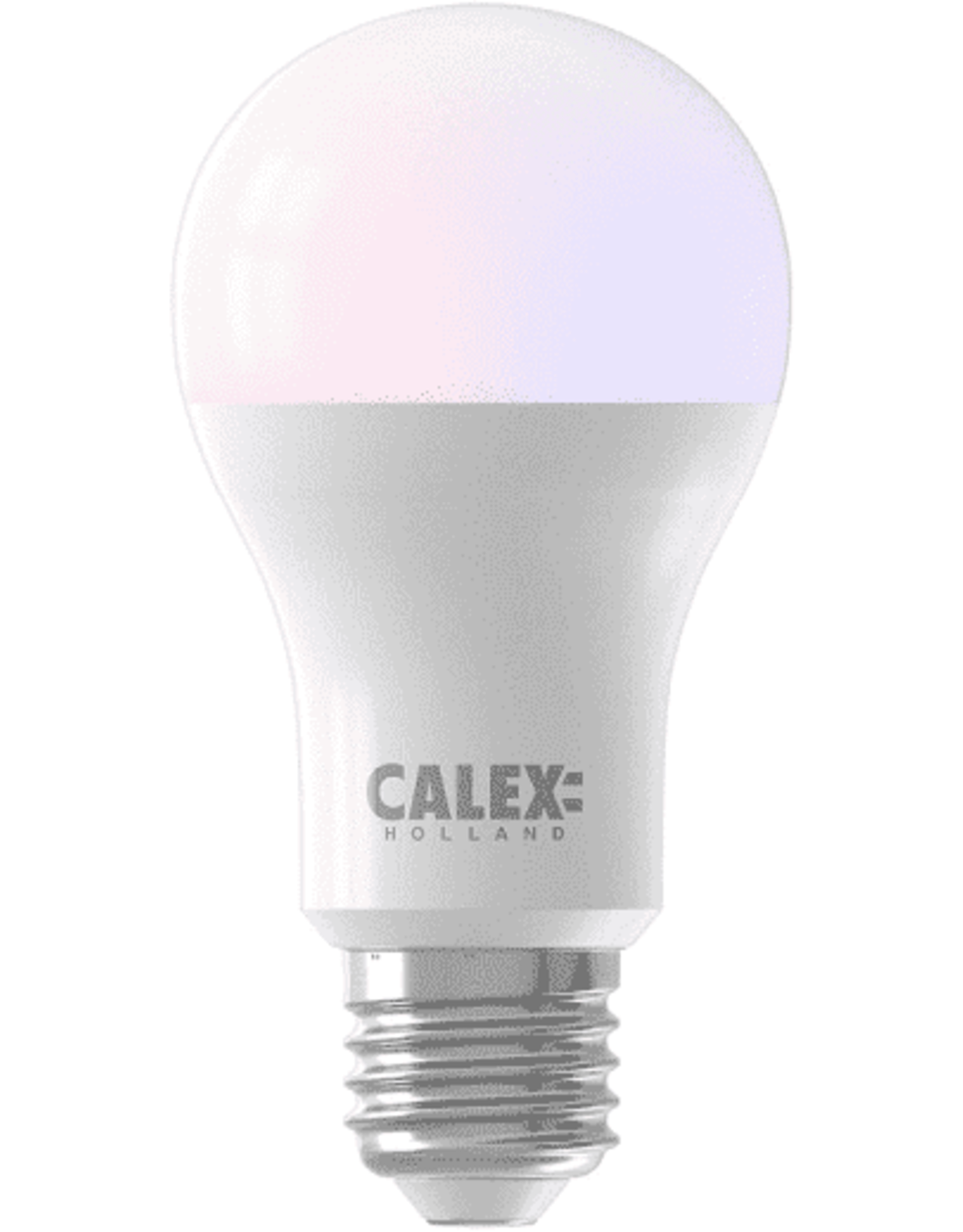 Calex Smart LED GLS-lamp A60 E27220-240V 8,5W 806lm 2200-4000K+RGB, energy label A+