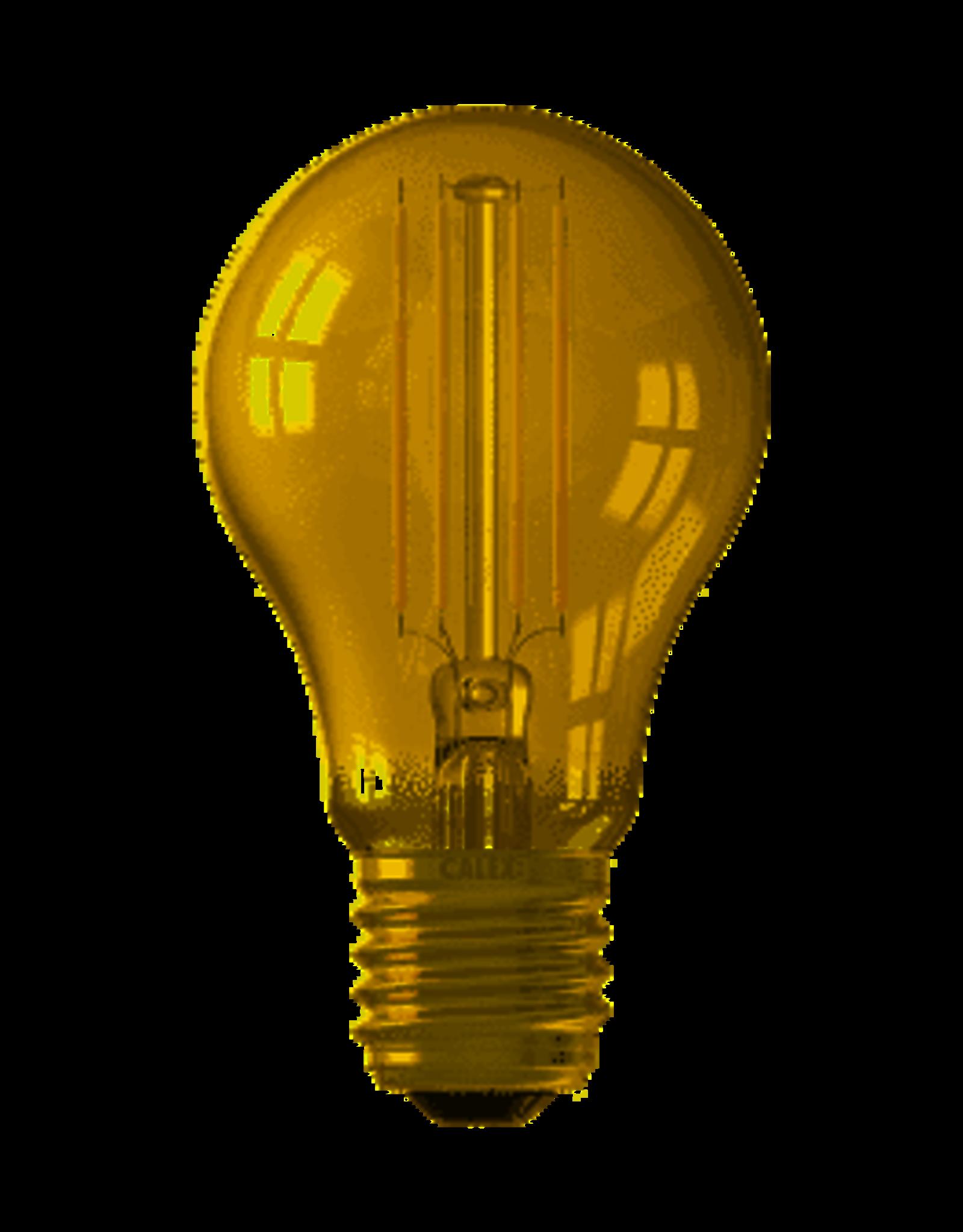 Calex Calex Smart LED Filament Goud Standaardlamp A60 E27 220-240V 7W 806lm 1800-3000K