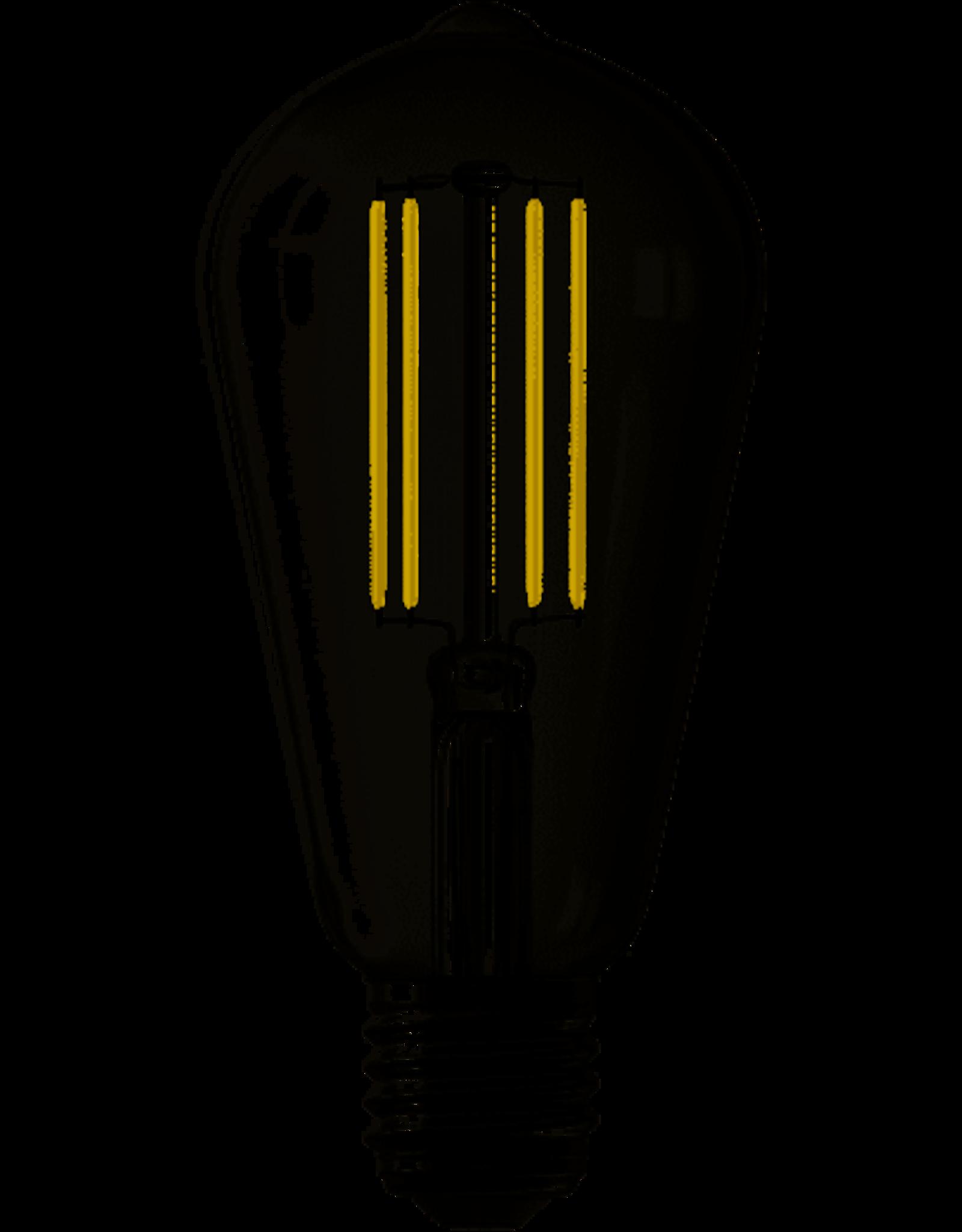 Calex Calex Smart LED Filament Helder Rustieklamp ST64 E27 220-240V 7W 806lm 1800-3000K