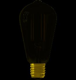 Calex Calex LED E27 SMART  edison lamp smoke 400lm