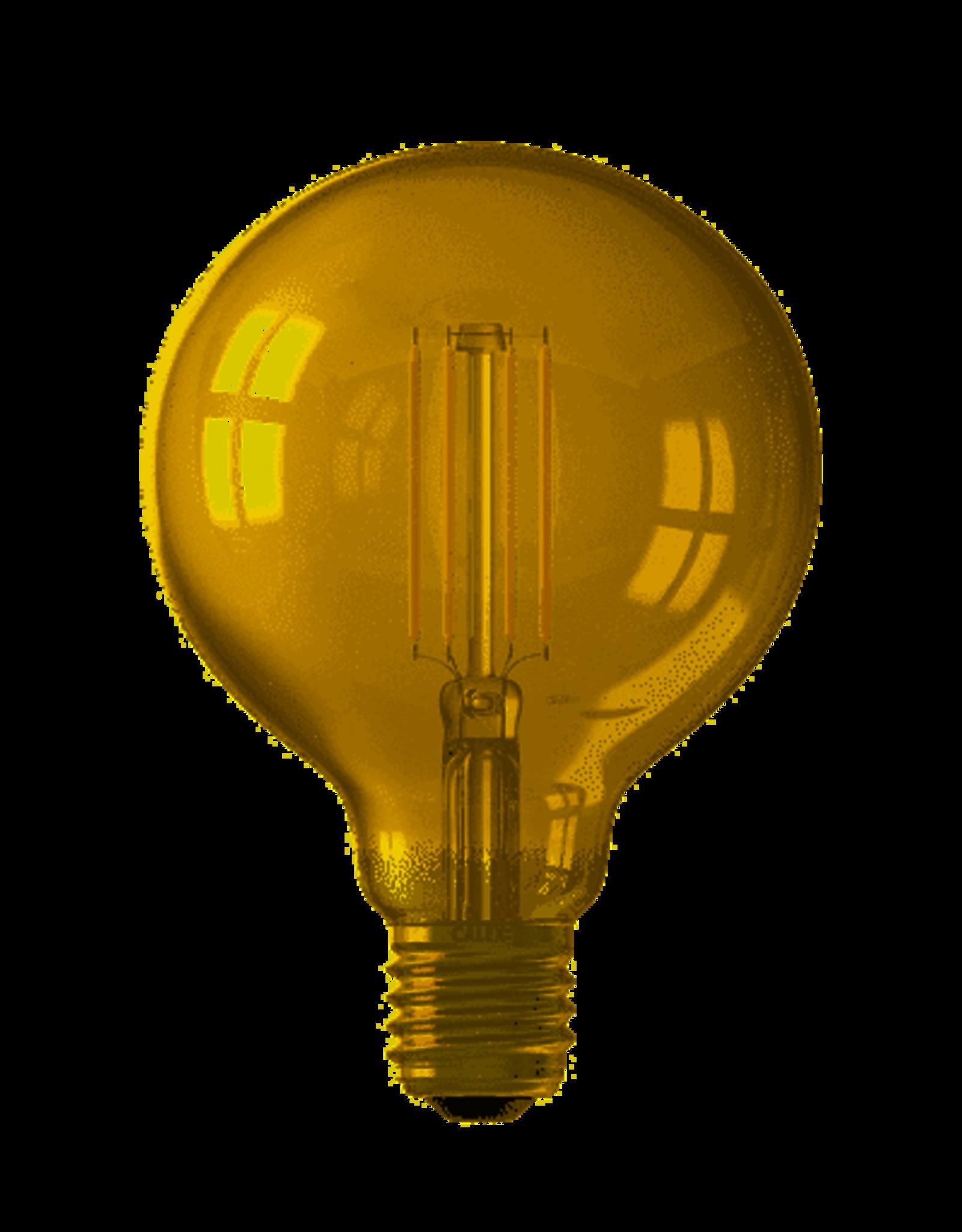 Calex Calex Smart LED Filament Goud Globelamp G125 E27 220-240V 7W 806lm 1800-3000K