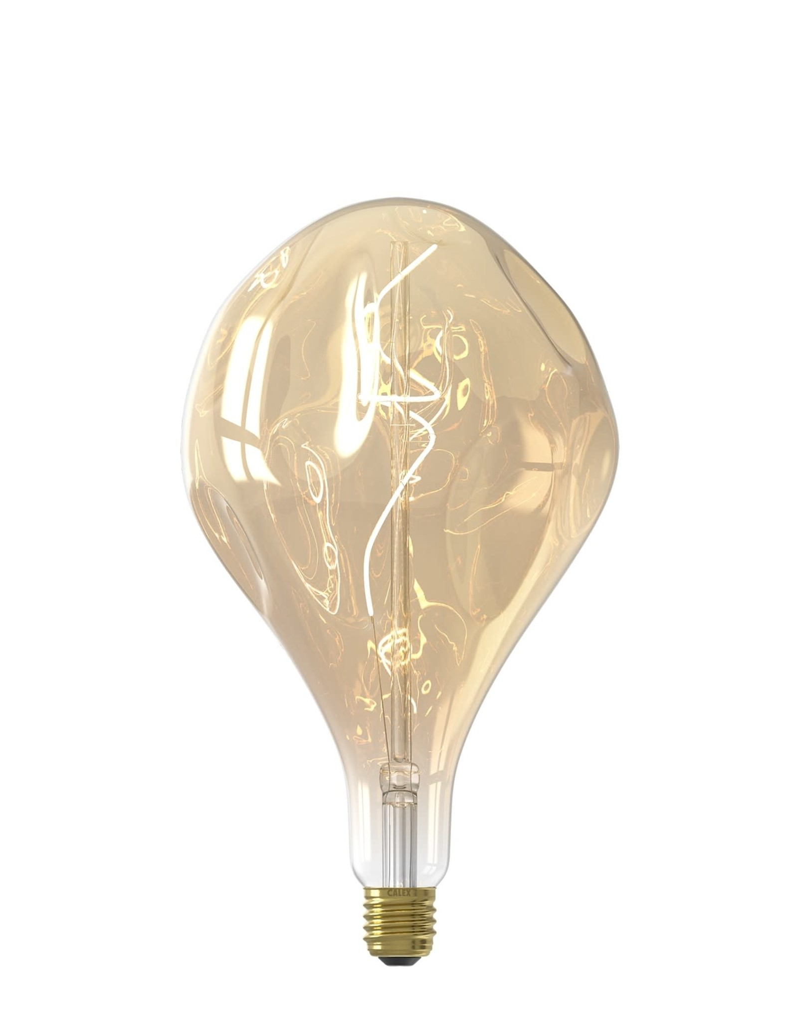 Calex XXL Organic EVO LED Lamp 240V 6W 340lm E27 PS165, Gold 2100K dimmable, energy label A