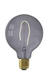 Calex NORA LED colors Globe G95 soft U-filament 220-240V 4W E27, Topaz Grey 2200K dimmable, energy label B