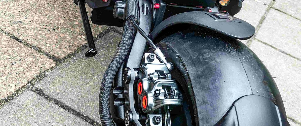 Dualtron Thunder Customisation: No Fear Race EDITION Rood