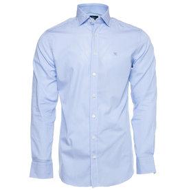 Hackett Chemise bleue lignée