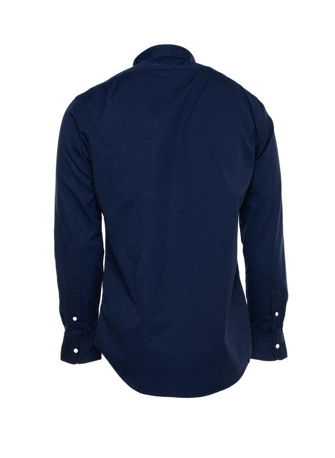 Chemise bleu marine