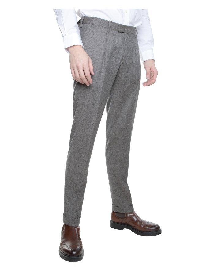 Pantalon gris chiné