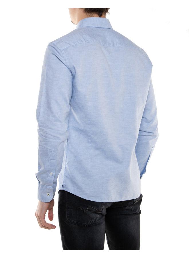 Chemise col à motif paisley