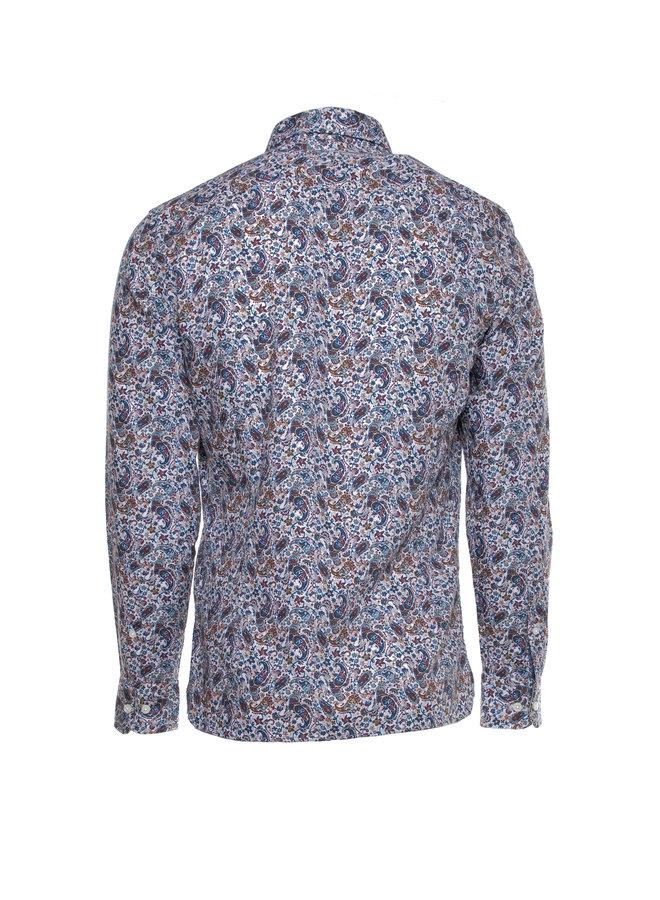 Chemise à motif paisley