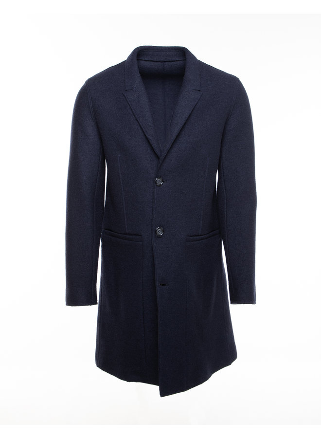 Veste longue (Cool wool)