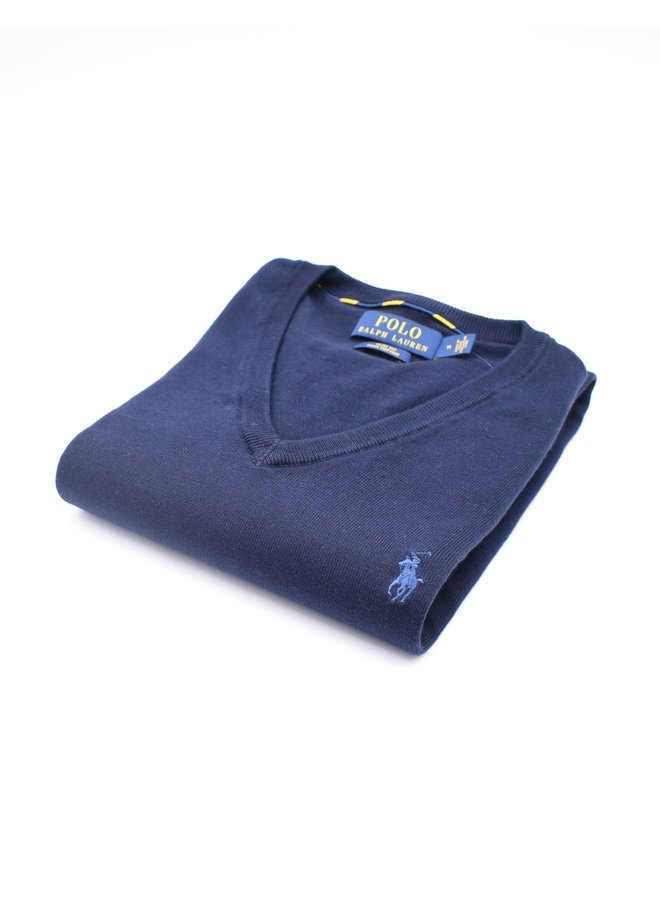 "Col ""V"" Navy (PIMA Cotton)"