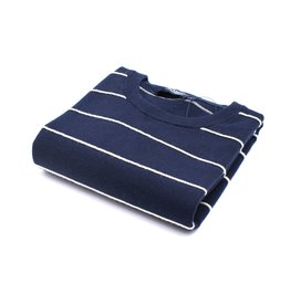 Hackett Pull ligné Navy/White