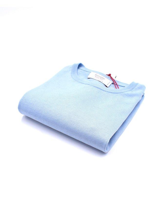 Pull bleu clair (Soie)