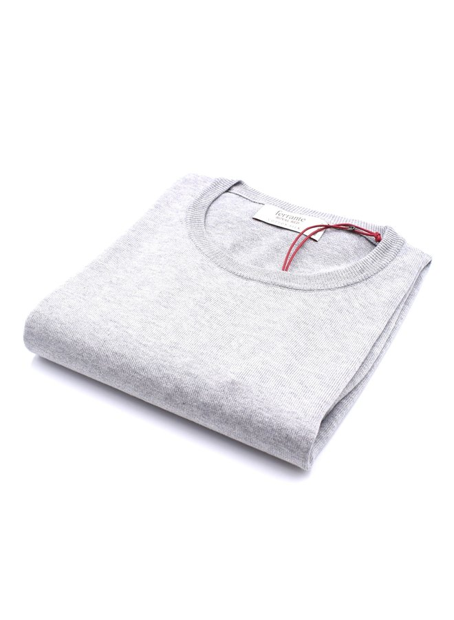 Pull gris (Soie)