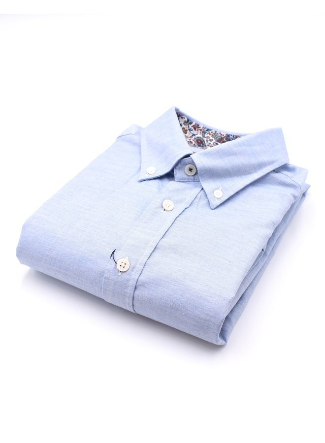 Chemise col à motif