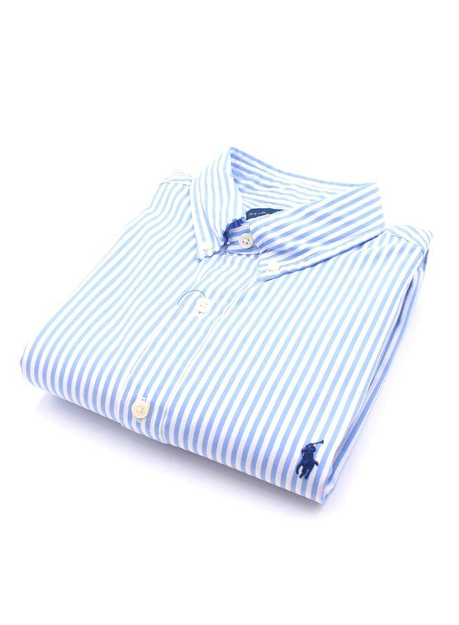 Chemise Lignée Bleue Clair