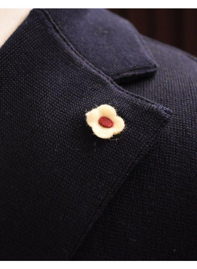 Giacca maglia navy