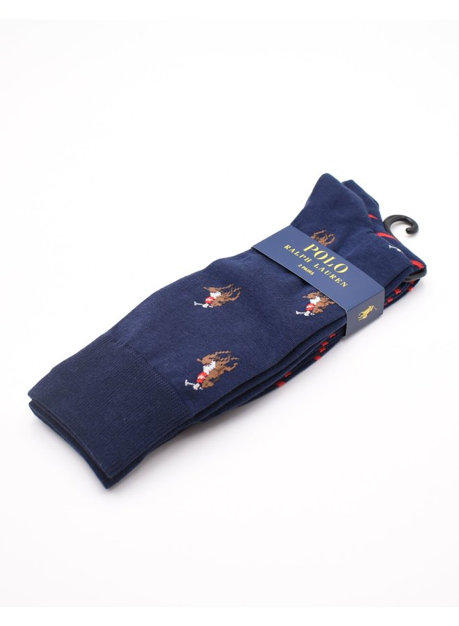 Chaussettes motifs logos