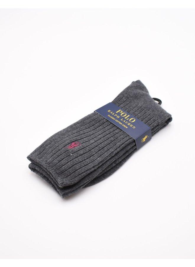 Chaussettes de sport grises