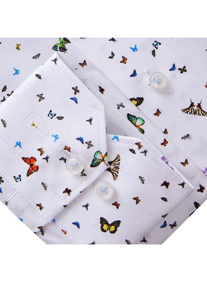 Chemise Motifs Papillons