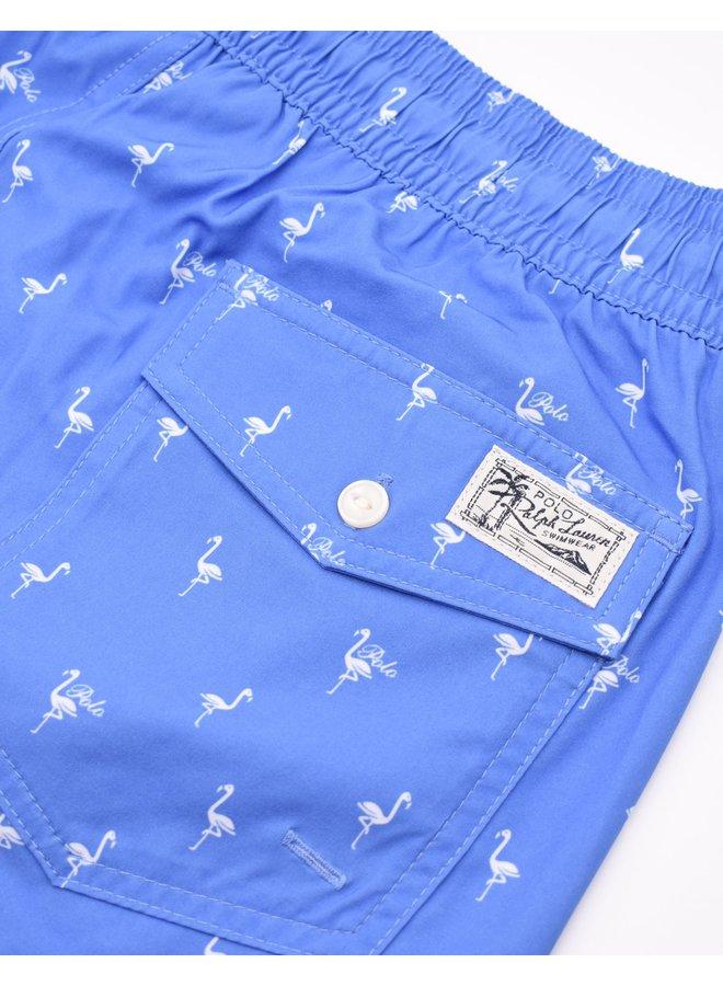 """Maillot bleu à motifs """"birds"""""""